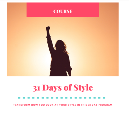 31 days of style