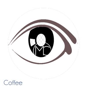 coffee eyeliner