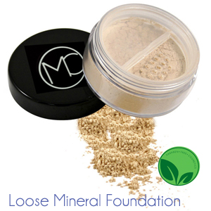 Maxfield Cosmetics. loose mineral foundation
