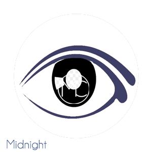 midnight blue eyeliner