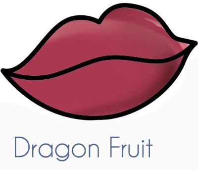 dragon fruit Longlasting lipgloss maxfield cosmetics