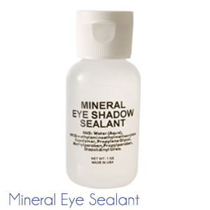 bottle of mineral eye sealant