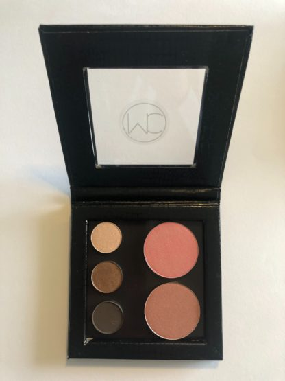 Warm Pocket Palette containing 3 eyeshadows and 2 blushes