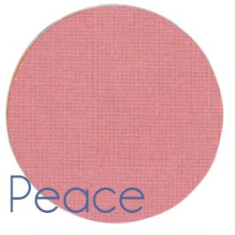 peace pink blusher