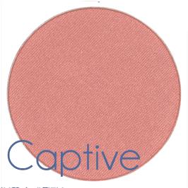 shade of blusher called captive